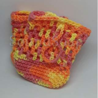 Soap Saver Bags - yellow-orange-red