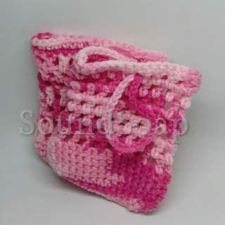 Soap Saver Bags - pink