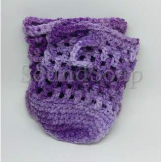 Soap Saver Bags - purple